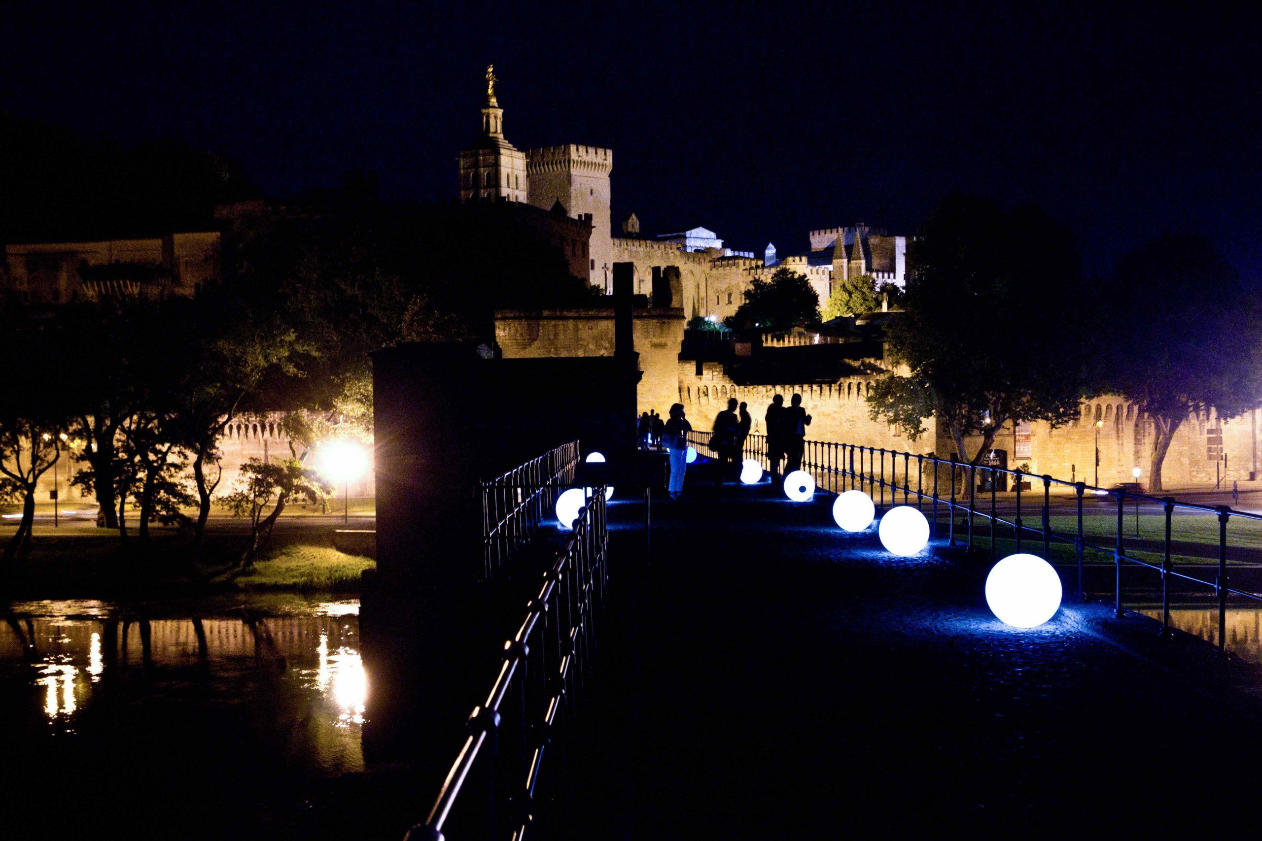 Soirée visite nocturne pont
